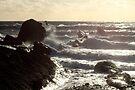 Crashing waves by missmoneypenny