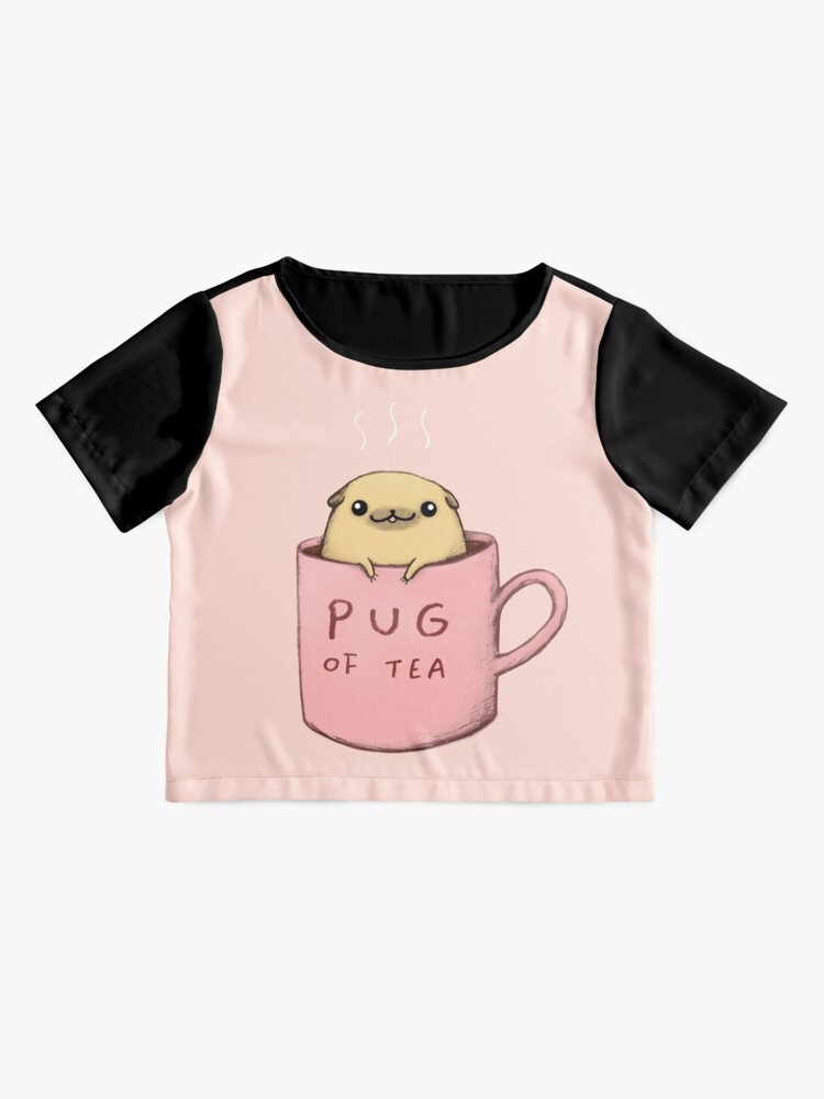 Alternate view of Pug of Tea Chiffon Top