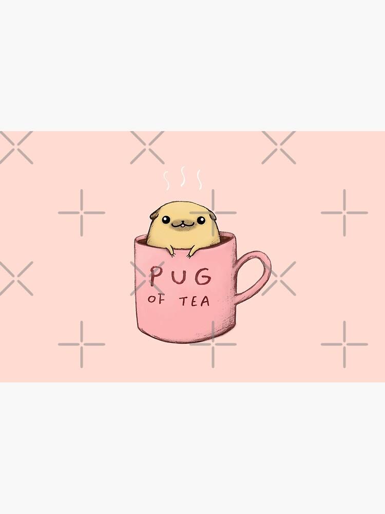 Pug of Tea by SophieCorrigan