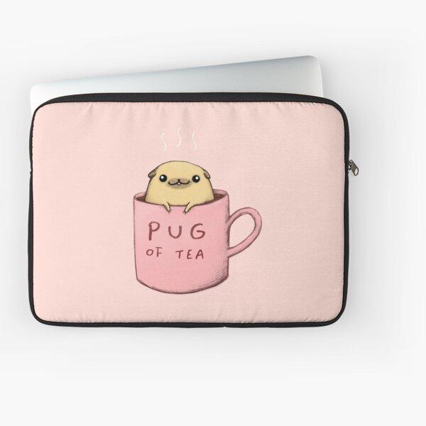 Pug of Tea Laptop Sleeve