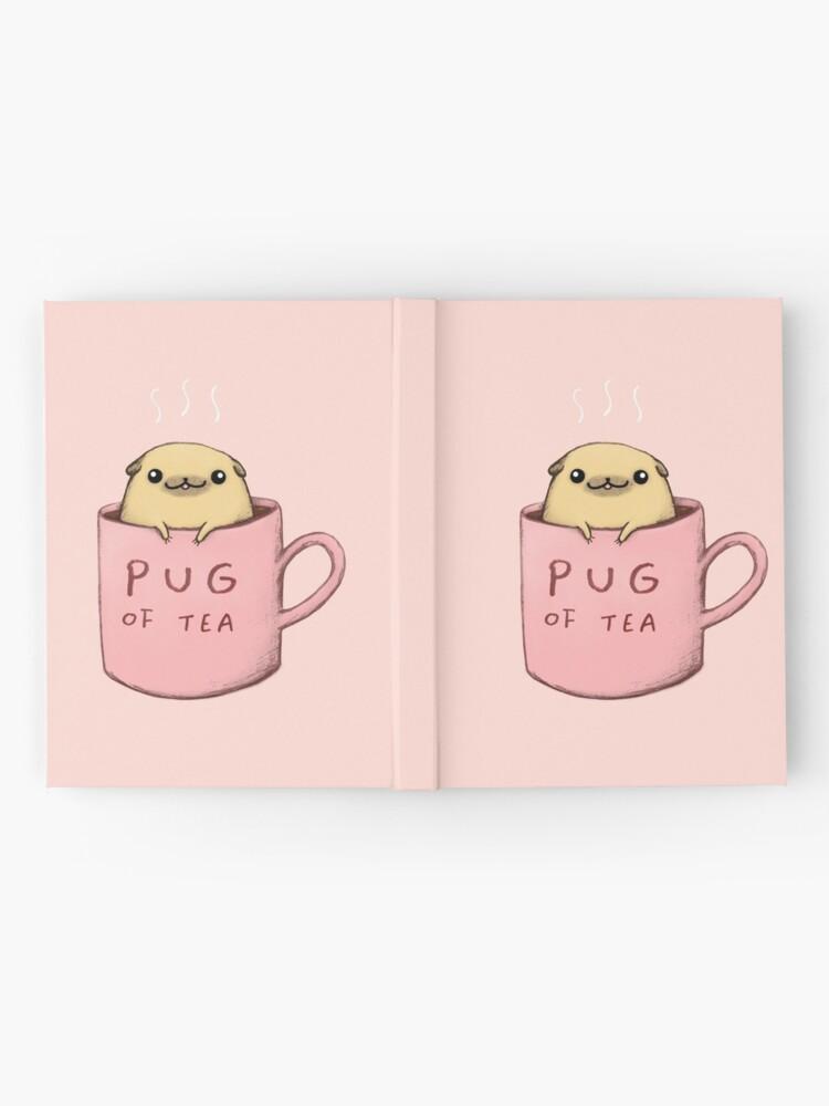 Alternate view of Pug of Tea Hardcover Journal