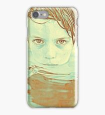 little swimmer iPhone Case/Skin