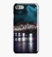 london big bang at night iPhone Case/Skin