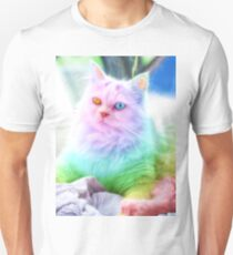 Unicorn Rainbow Cat Unisex T-Shirt