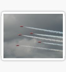 The Red Arrows Torbay Airshow 2017- Movement Sticker