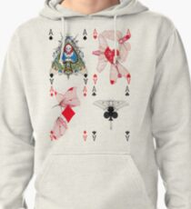 Cryptic Cards 4 Aces Pullover Hoodie