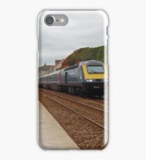 Great Western Railway High Speed Train along the Dawlish Sea Wall iPhone Case/Skin