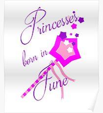 Princesses Born in June Poster