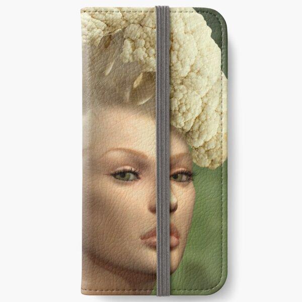 Charismatic Cauliflower iPhone Wallet