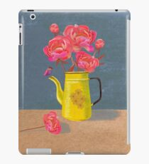 Yellow kettle filled with love iPad Case/Skin