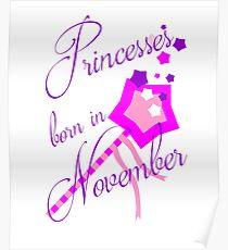 Princesses Born in November Poster
