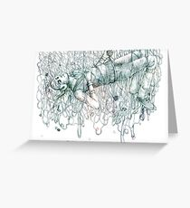 Wire Dreams Greeting Card