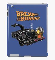 Back To The Banana v2 iPad Case/Skin