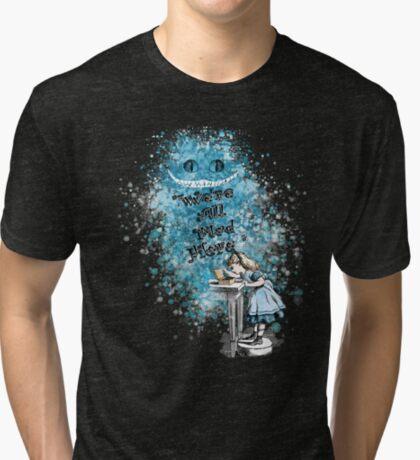 Alice Adventures In Wonderland Camiseta de tejido mixto