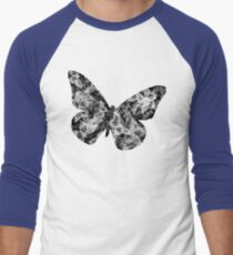 Black and White Butterfly Design T-Shirt