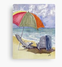 Must Be Swimming Canvas Print