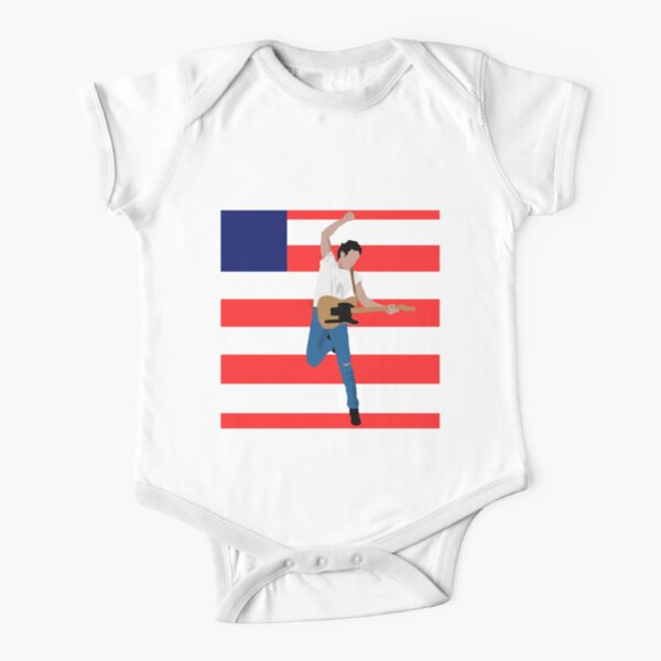 Bruce - Born #1 Short Sleeve Baby One-Piece