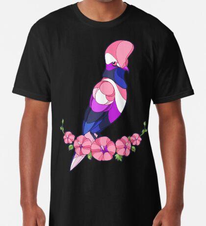 Pride Birds - Genderfluid Long T-Shirt