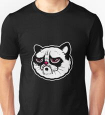 Black and white cat with the hump  Unisex T-Shirt