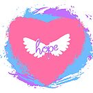 Hope Riding on Love & Wings by jessicahannan81