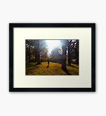 Into the Light Framed Print