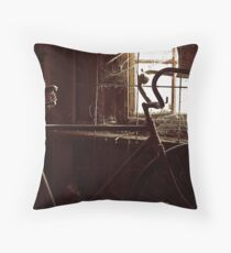 Window On The Past Throw Pillow