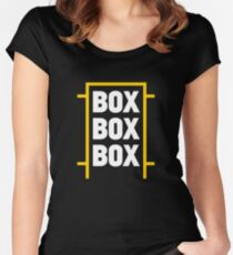 Box Box Box Women's Fitted Scoop T-Shirt