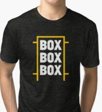 Box Box Box Tri-blend T-Shirt