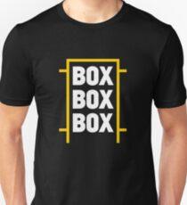 Box Box Box Unisex T-Shirt