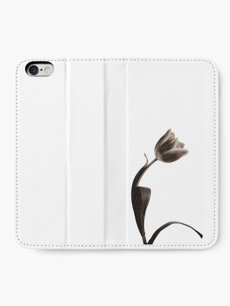 Alternate view of Antique Tulip iPhone Wallet