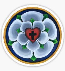 Luther's Rose Christian Seal Sticker