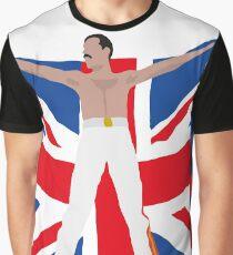 Freddie flag Graphic T-Shirt
