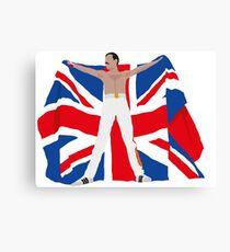 Freddie flag Canvas Print