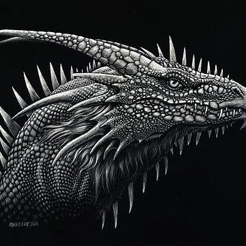 Dragon Lizard by SMorrisonArt