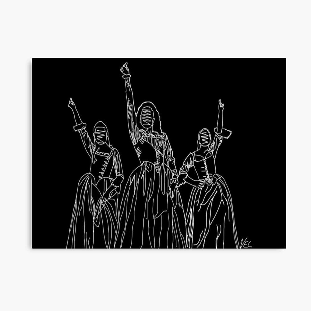 Esquema de las hermanas Schuyler Lienzo