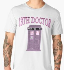 13th Doctor Is In - Police Box Men's Premium T-Shirt