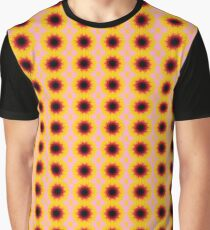 Yellow flowers of summer Graphic T-Shirt