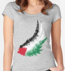 Free Palestine Women's Fitted Scoop T-Shirt