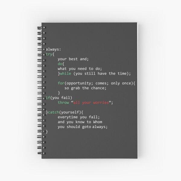 Geek Coder Cuaderno de espiral