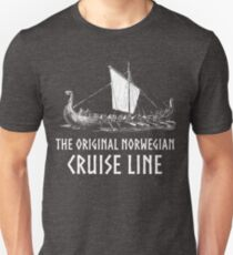 Viking Boat > Original Norwegian Cruise Line > Viking Slim Fit T-Shirt