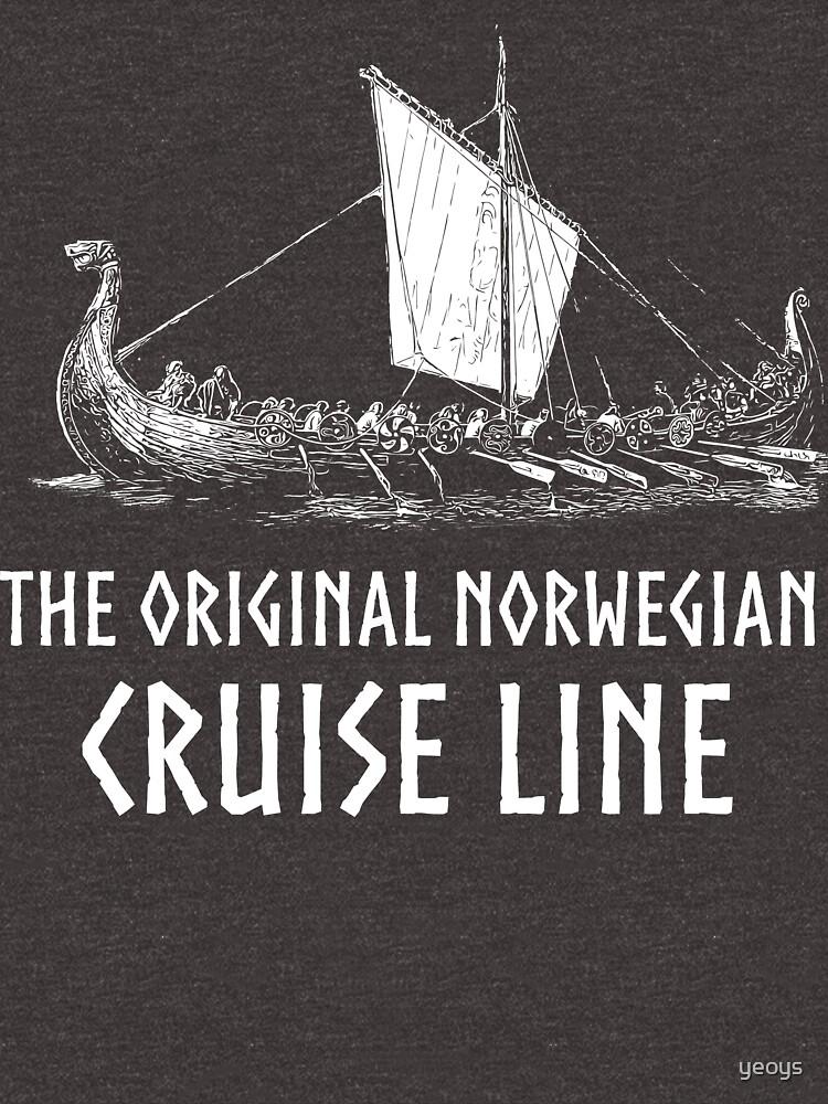 Viking Boat> Original Norwegian Cruise Line> Viking by yeoys