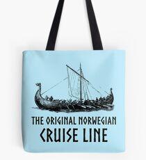Viking Boat > Original Norwegian Cruise Line > Viking Tote Bag