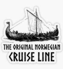 Viking Boat > Original Norwegian Cruise Line > Viking Transparenter Sticker