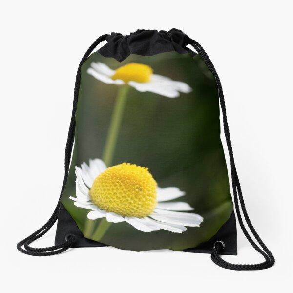 A Pair of daisy flowers Drawstring Bag