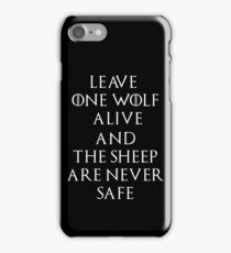 Game of Thrones Season 7 Arya Stark Quote iPhone Case/Skin