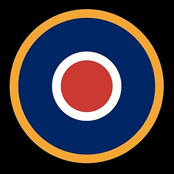 WAR, Spitfire, Bulls eye, Target, Archery, Plane, Aircraft, Flight, Wing, on black by TOMSREDBUBBLE