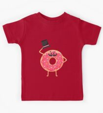 Funny donut Kids Clothes