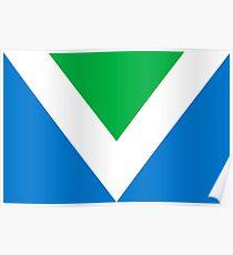 Official Vegan Flag Poster