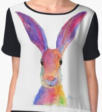 HAPPY HARE 'JELLY BEAN' BY SHIRLEY MACARTHUR Chiffon Top