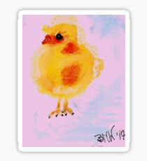 Here Chick Chick  Sticker
